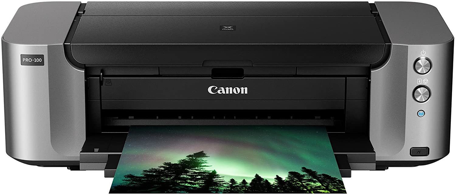 Canon Pixma Pro-100 Wireless Color Professional Inkjet Printer